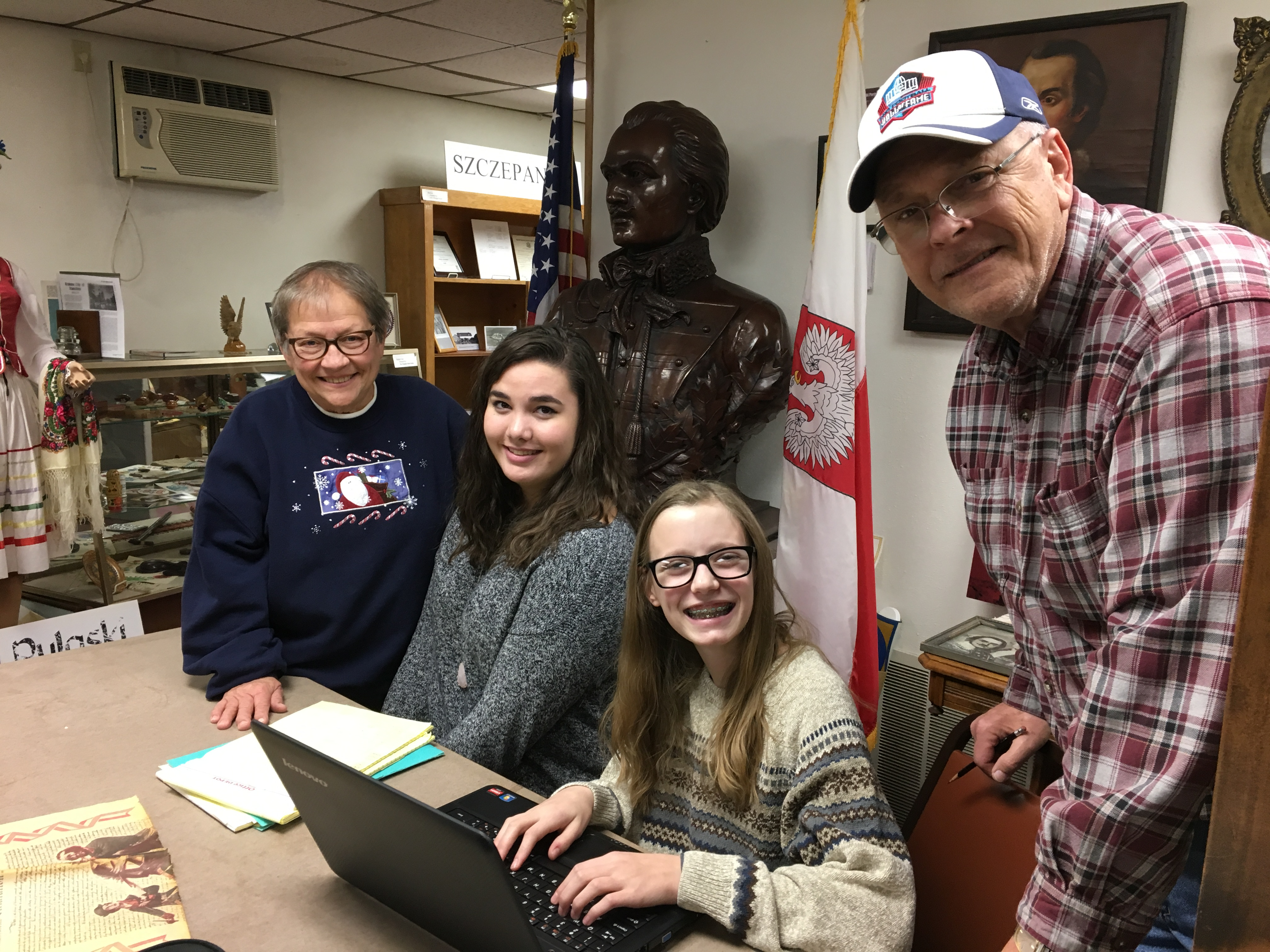Volunteer with the Pulaski Area Historical Society