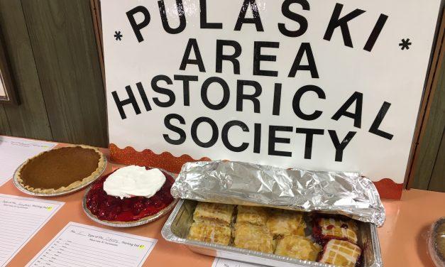Recent Pie Sale Fundraiser