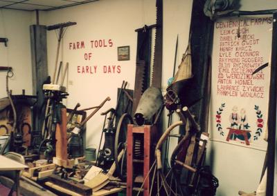 Early farm equipment