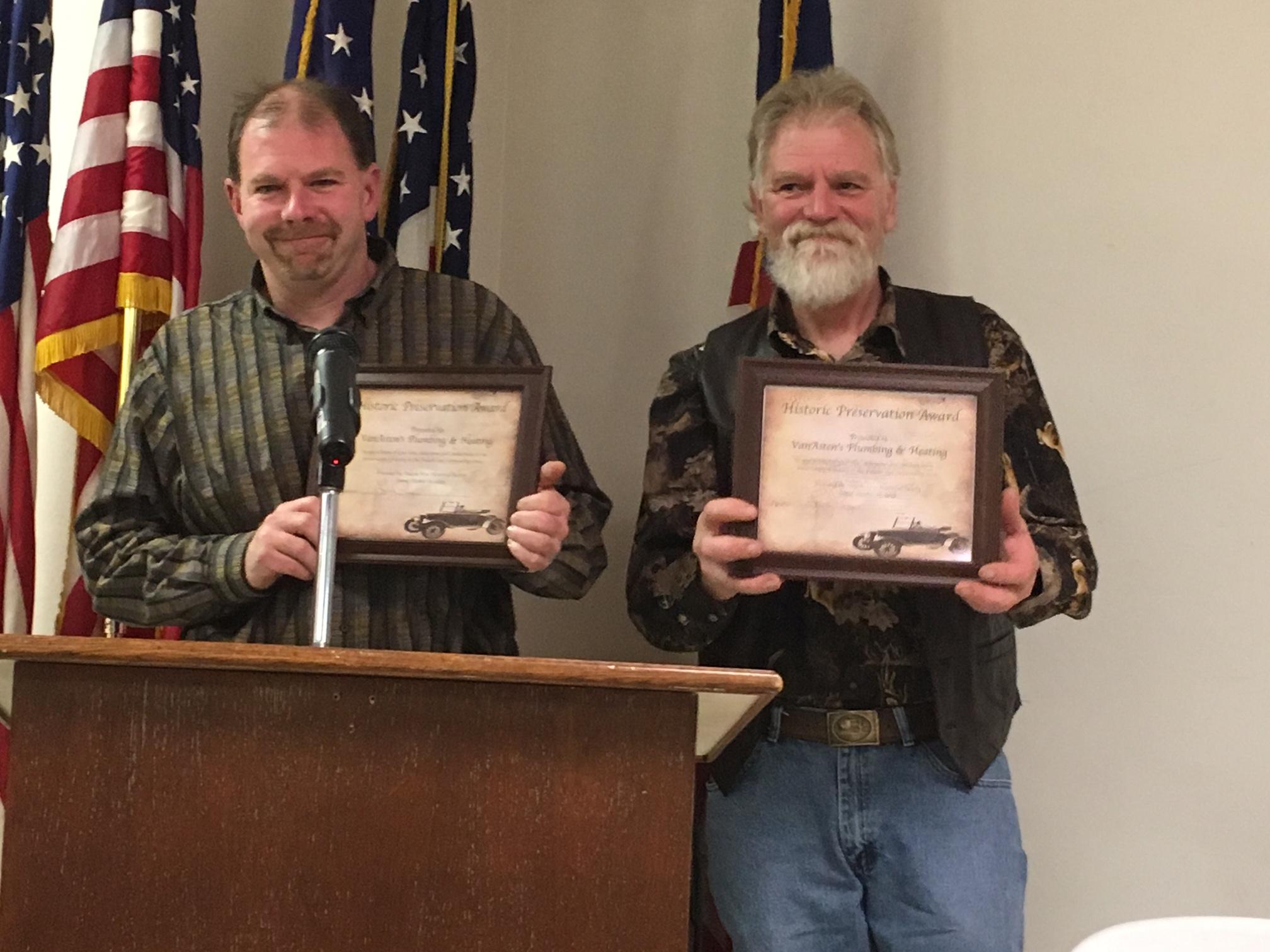 Preservation Award Recipients