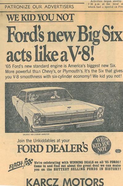 Karcz Motors Ad