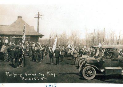 Rallying Around the Flag in Pulaski