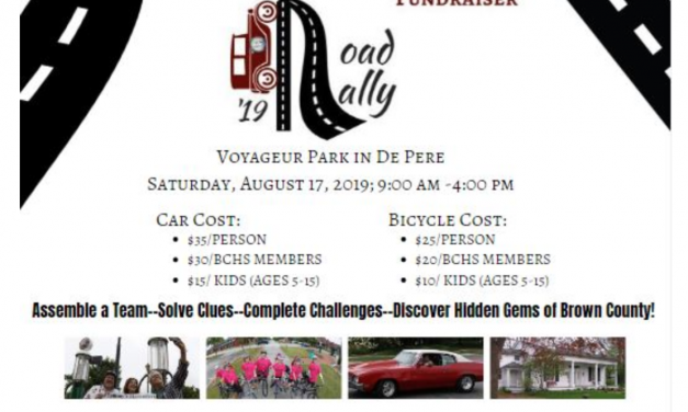 PAHS participates in 2nd Annual Brown County Historical Road Rally, Won't you join us?